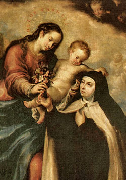 Infant Jesus with St. Teresa